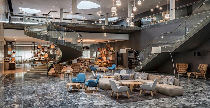 Designový prostor lobby Vás ohromí