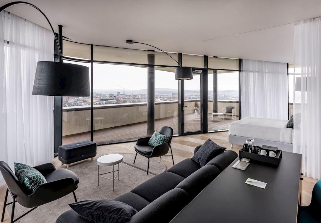 Střešní apartmá